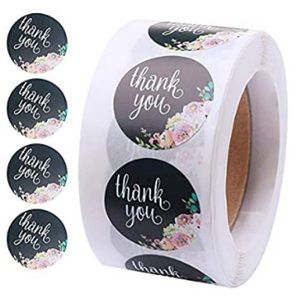 (500) Thank You Stickers